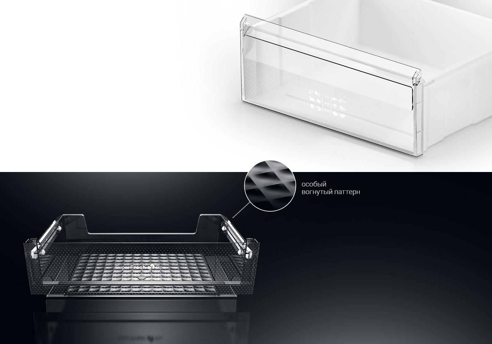 Корзины морозильной камеры